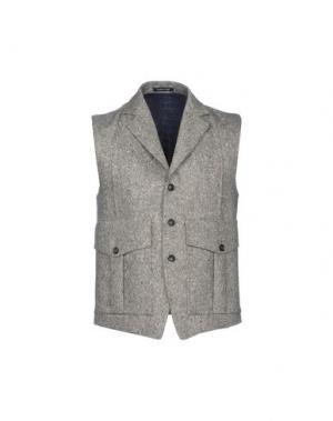 Пиджак UMIT BENAN. Цвет: серый