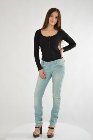 Джинсы Versace Jeans. Цвет: синий