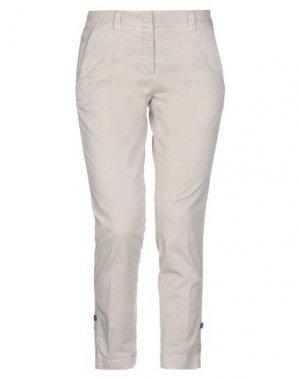 Повседневные брюки ACCUÀ by PSR. Цвет: бежевый