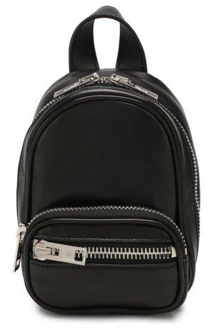Рюкзак Attica mini Alexander Wang. Цвет: черный