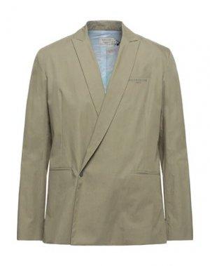 Пиджак MAISON KITSUNÉ. Цвет: зеленый-милитари