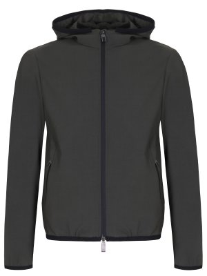 Куртка-ветровка с капюшоном CANALI