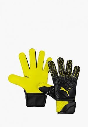 Перчатки вратарские PUMA FUTURE Grip 19.4. Цвет: желтый
