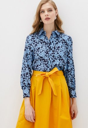 Рубашка Belucci. Цвет: голубой