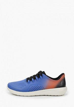 Кроссовки Crocs. Цвет: синий