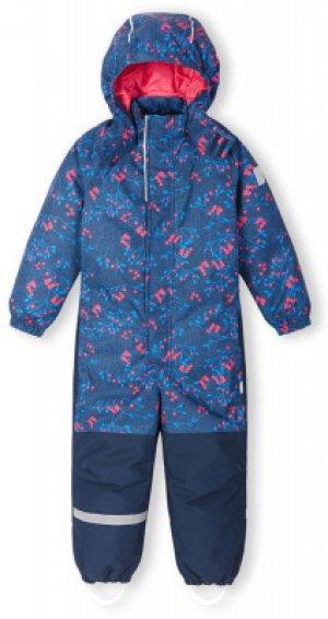Комбинезон для девочек Laikko, размер 122 Reima. Цвет: синий