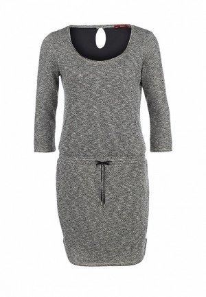 Платье EDC by Esprit. Цвет: серый
