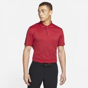 Мужская рубашка-поло для гольфа Dri-FIT ADV Tiger Woods - Красный Nike