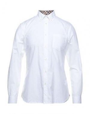 Pубашка AQUASCUTUM. Цвет: белый
