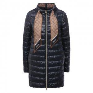 Пуховая куртка Herno. Цвет: синий