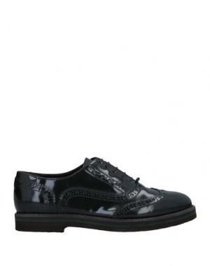 Обувь на шнурках AGL ATTILIO GIUSTI LEOMBRUNI. Цвет: темно-зеленый