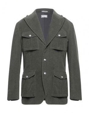 Пиджак BRUNELLO CUCINELLI. Цвет: зеленый-милитари