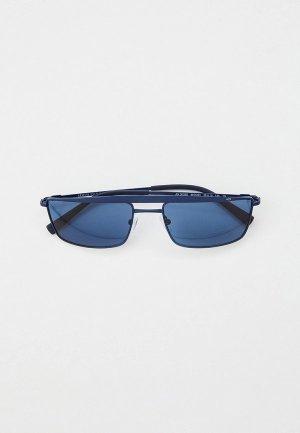 Очки солнцезащитные Armani Exchange AX2038S 609580. Цвет: синий