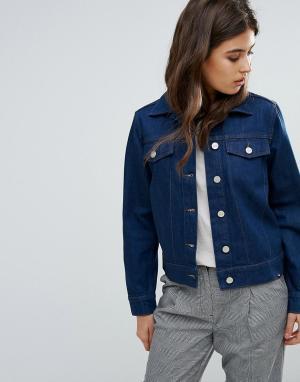 Джинсовая куртка Kasi Wood. Цвет: синий