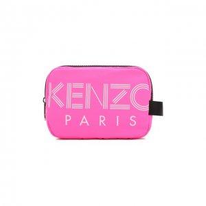 Текстильная косметичка Kenzo. Цвет: розовый