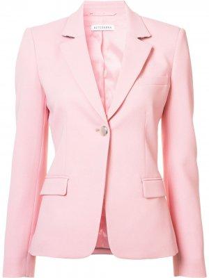 Пиджак с застежкой на пуговицу Altuzarra. Цвет: розовый
