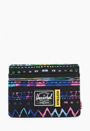 Кредитница Herschel Supply Co Charlie RFID (Hoffman Collection). Цвет: черный