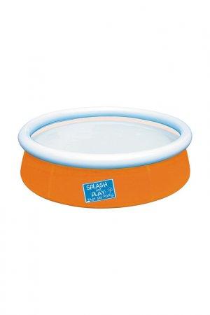 Бассейн с надувным бортом BestWay. Цвет: голубой, оранжевый, зеленый