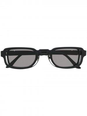 Солнцезащитные очки N12 Kuboraum. Цвет: черный