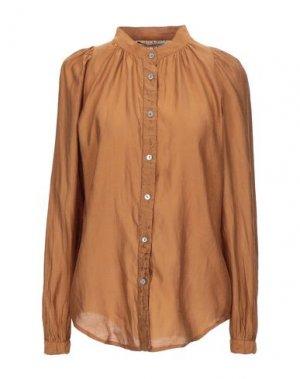Pубашка NOVEMB3R. Цвет: коричневый