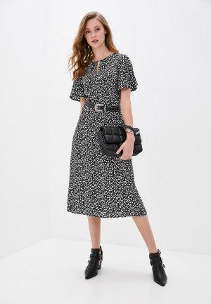 Платье Taifun. Цвет: черный