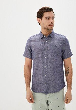 Рубашка Gap. Цвет: синий