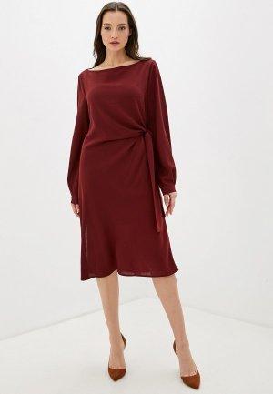 Платье Adolfo Dominguez. Цвет: бордовый
