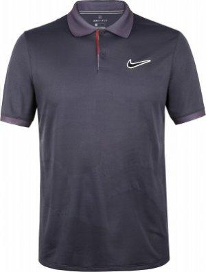 Поло мужское Court Breathe Advantage, размер 50-52 Nike. Цвет: черный