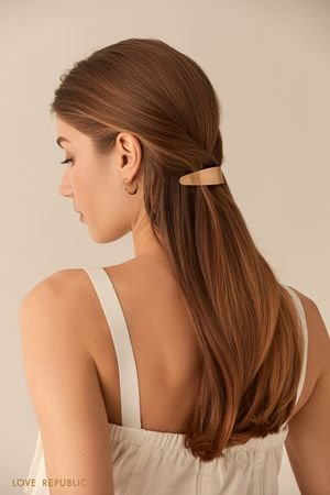 Металлическая заколка для волос LOVE REPUBLIC