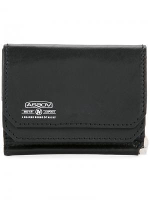 Чехол для мобильного с зажимом денег As2ov. Цвет: черный
