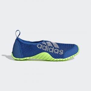 Коралловые тапочки Kurobe Performance adidas. Цвет: белый