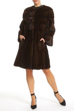 Fur coat Manakas Frankfurt. Цвет: kastanie