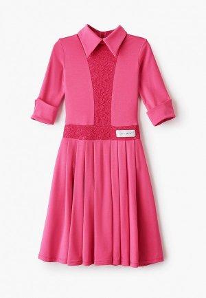 Платье AltraNatura. Цвет: розовый