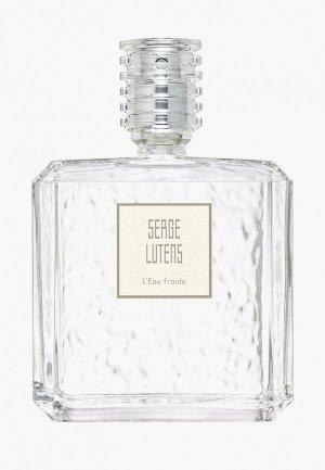 Парфюмерная вода Serge Lutens L`Eau Froide, 100 мл. Цвет: прозрачный