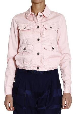 Джинсовая куртка M. GRIFONI. Цвет: розовый