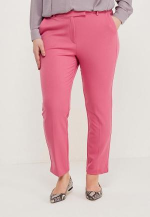 Брюки Marks & Spencer. Цвет: розовый