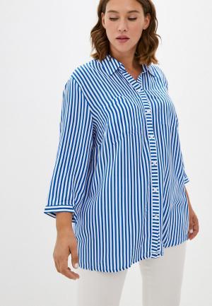 Блуза Samoon by Gerry Weber. Цвет: синий