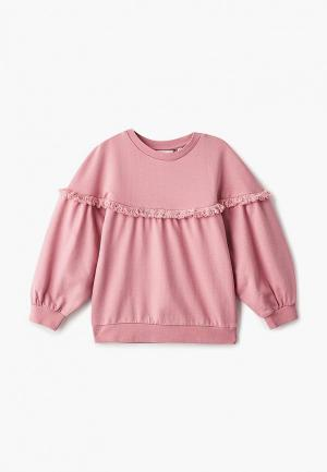 Свитшот Outfit Kids. Цвет: розовый
