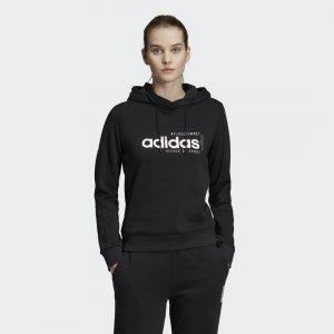 Худи Brilliant Basics Athletics adidas. Цвет: черный