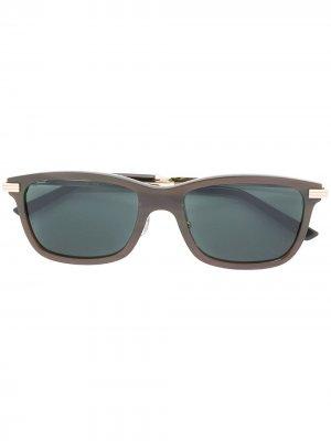 Солнцезащитные очки C Décor Cartier Eyewear. Цвет: brown/champagne желтый