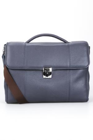 Briefcase bag Giorgio Fedon. Цвет: dark blue