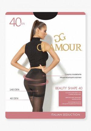 Колготки Glamour Beauty Shape 40 DEN. Цвет: черный