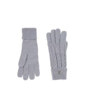 Перчатки BREKKA. Цвет: светло-серый