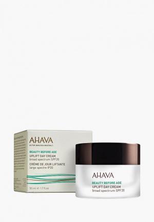 Крем для лица Ahava подтяжки кожи с широким спектром защиты spf 20. Дневной. 50 мл. Цвет: прозрачный