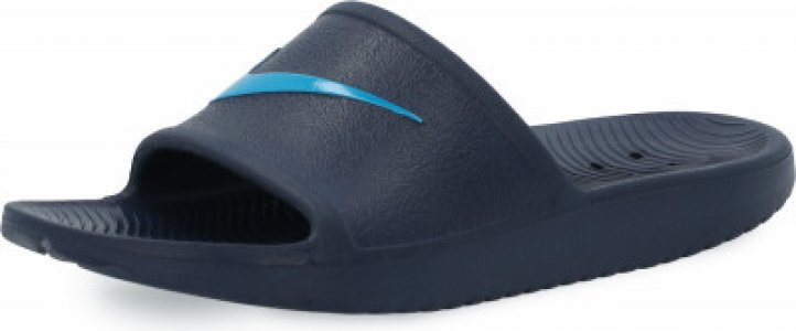 Шлепанцы для мальчиков Kawa Shower, размер 32.5 Nike. Цвет: синий