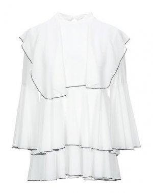 Блузка MARIUCCIA. Цвет: белый