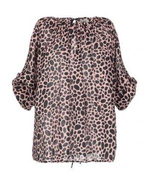Блузка ATTIC AND BARN. Цвет: розовый