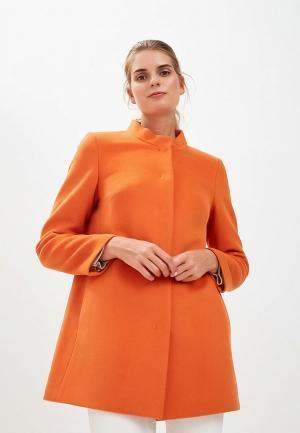 Пальто Gamelia MP002XW19GRZ. Цвет: оранжевый
