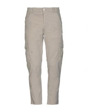 Повседневные брюки HAMAKI-HO. Цвет: хаки