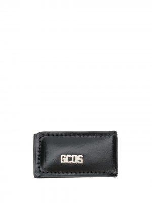 Зажим для банкнот с логотипом Gcds. Цвет: черный